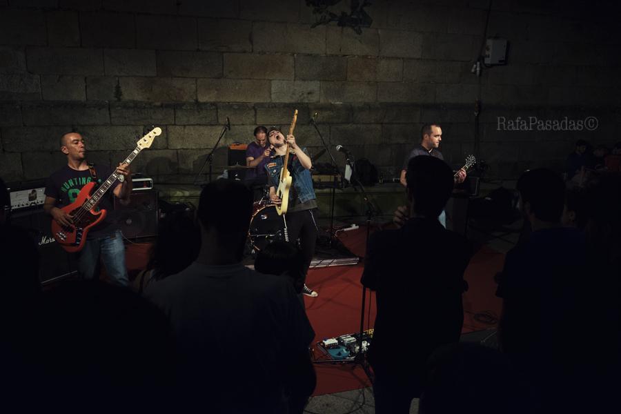 Foxy Freire en la Quintana. Santiago Compostela 21-06-2016