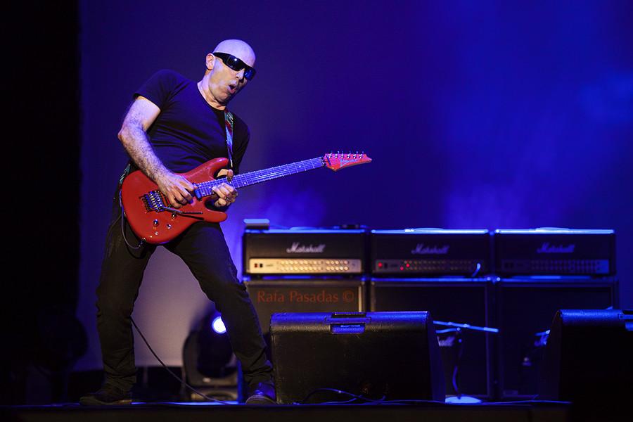 Joe Satriani. Auditorio Mar de Vigo. Julio 2014.