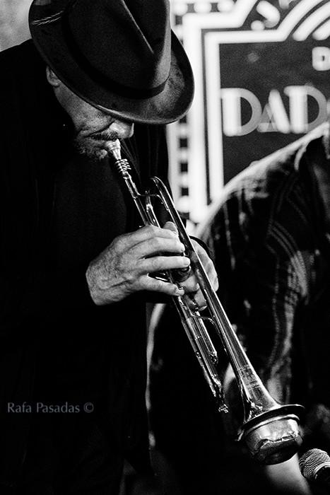 Jerry Gonzalez concierto en el Dado Dada. Santiago de Compostela, Abril 2014