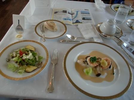 帝国ホテルのお料理!おいしかったです。