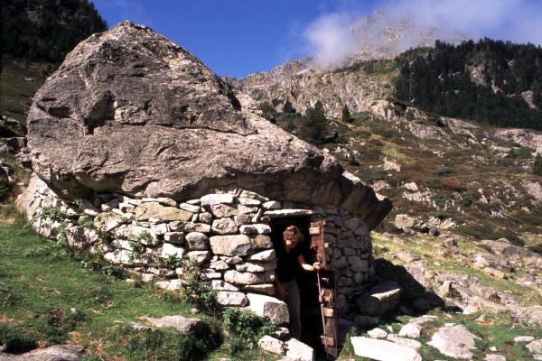 Toue de Doumlas dans le Parc National des Pyrénées