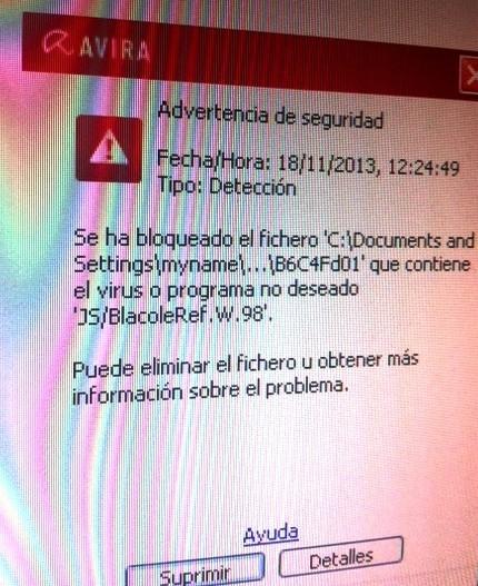 Eliminació de: Malware, Virus, Troïans, ...