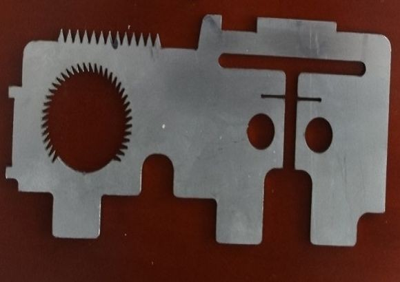 Sample of laser cutting show the machine's functions