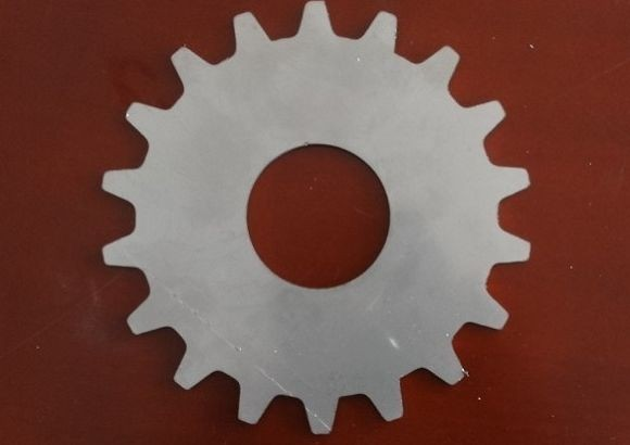Laser cutting Mild steel gear