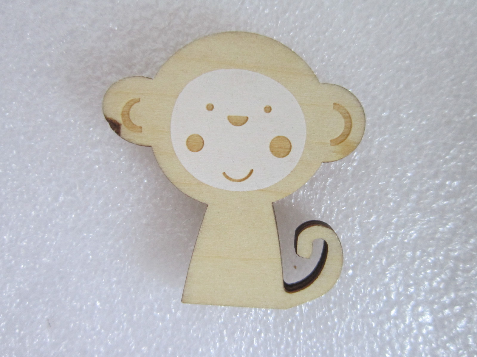 Small Monkey laser cutting, engraving and color printing