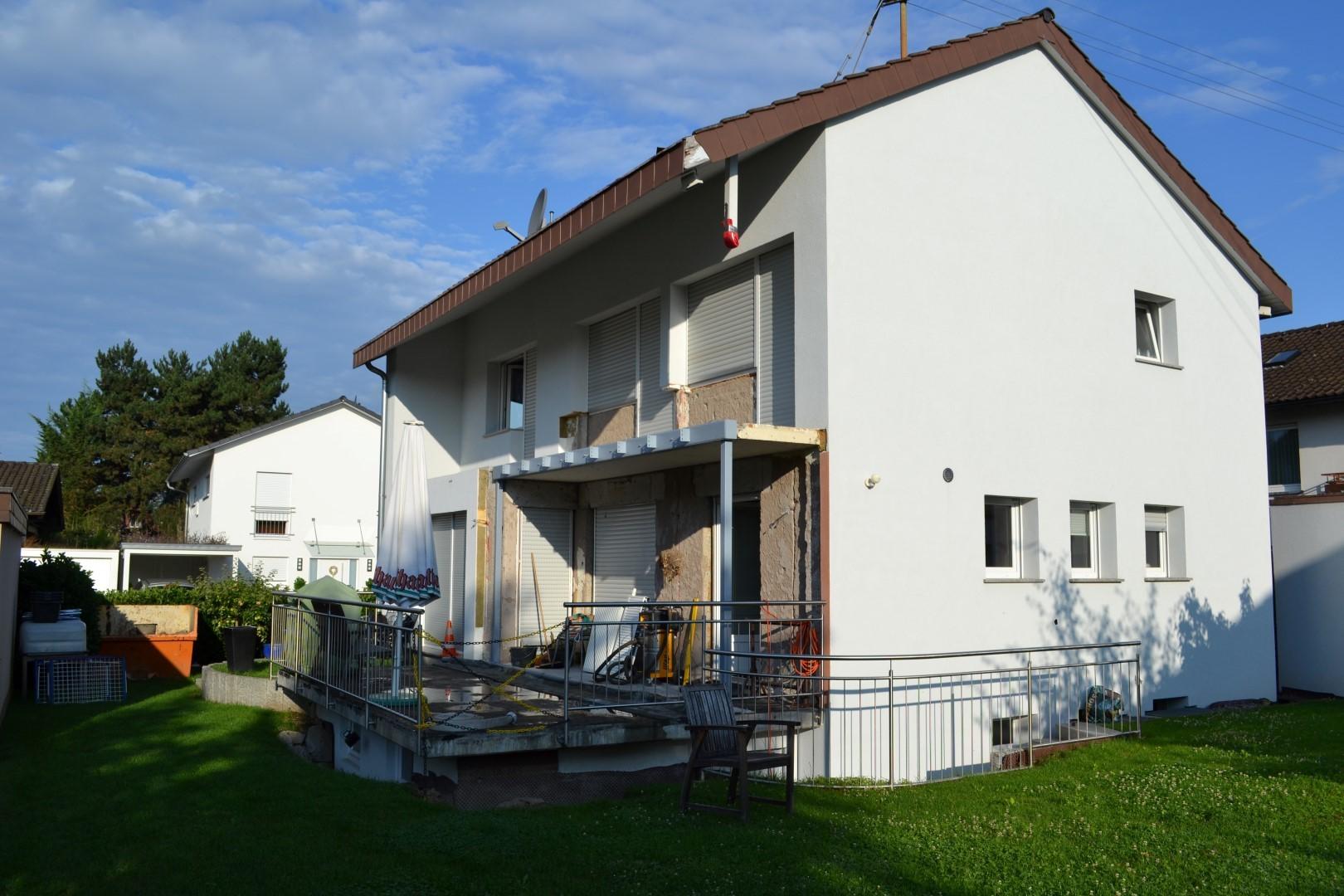 Anbau An Bestehendes Einfamilienhaus In Weil Am Rhein Zimmerei