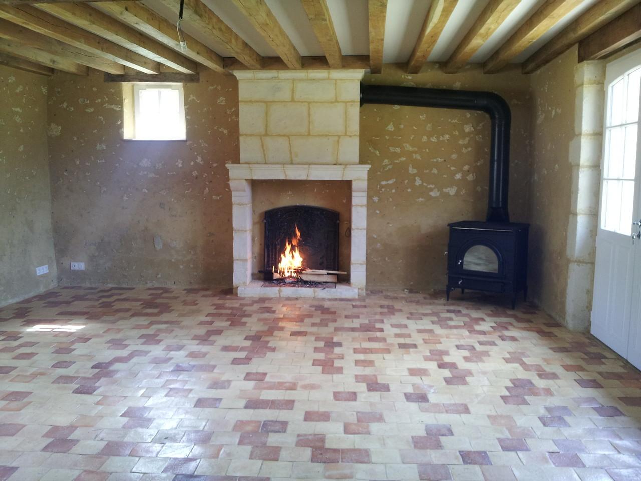 Renovation De Cheminee Ancienne cheminées en pierres de taille patinées - rénovation du bâti