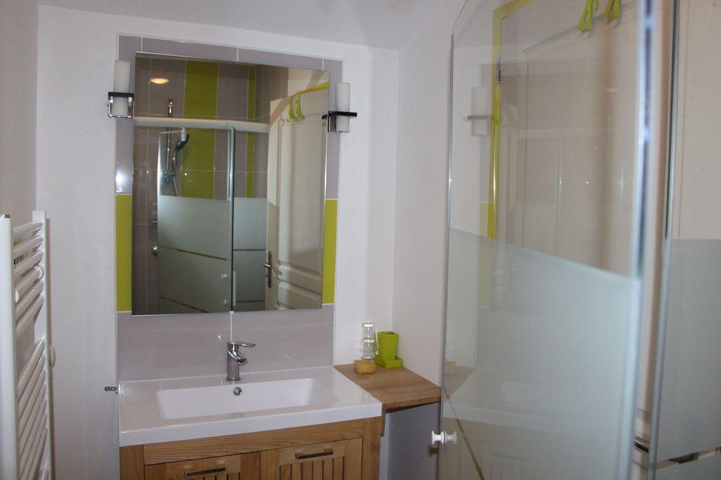Salle de bain douche 90x120 cm