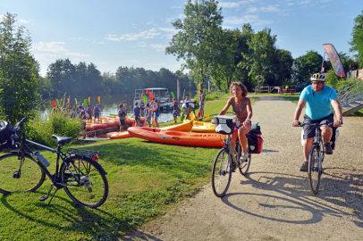 Randonnées vélo, canoë, pédestre etc...