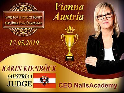 Die Schulungsleiterin und Trainerin Karin Kienböck wird auch regelmäßig als Trainerin in staatlichen und privaten Bildungseinrichtungen, wie z.B.: der WIFI-Wien oder auch als Jurorin gebucht.