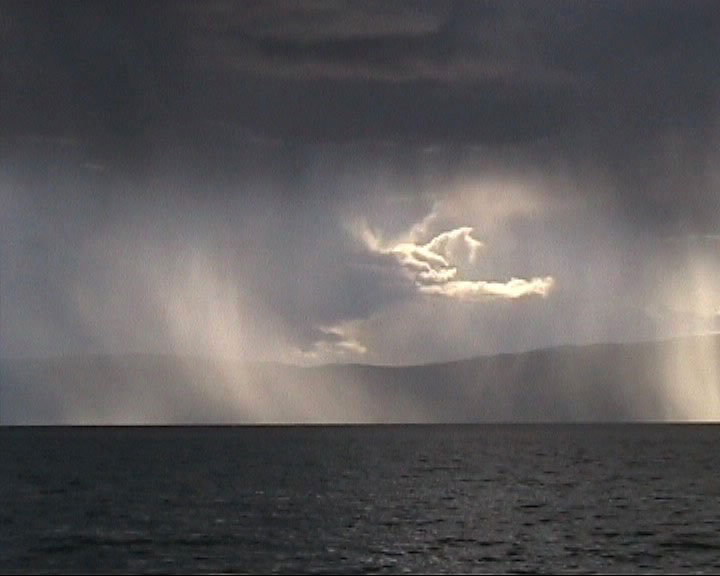 Cloud Ongon (Spirit) appearing after my Invocation at Lake Baikal (Feline Spirit))