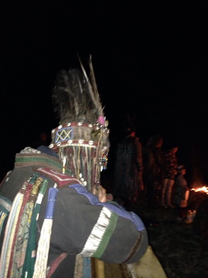 Shaman at  the great ceremony