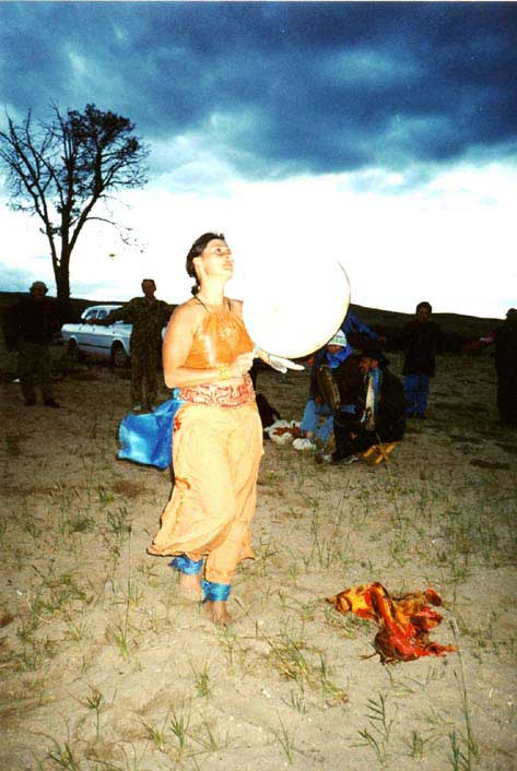 Calling the Spirits, Dance Ritual/Healing Performance at the Shaman's Conference (Olchon Island/Lake Baikal)