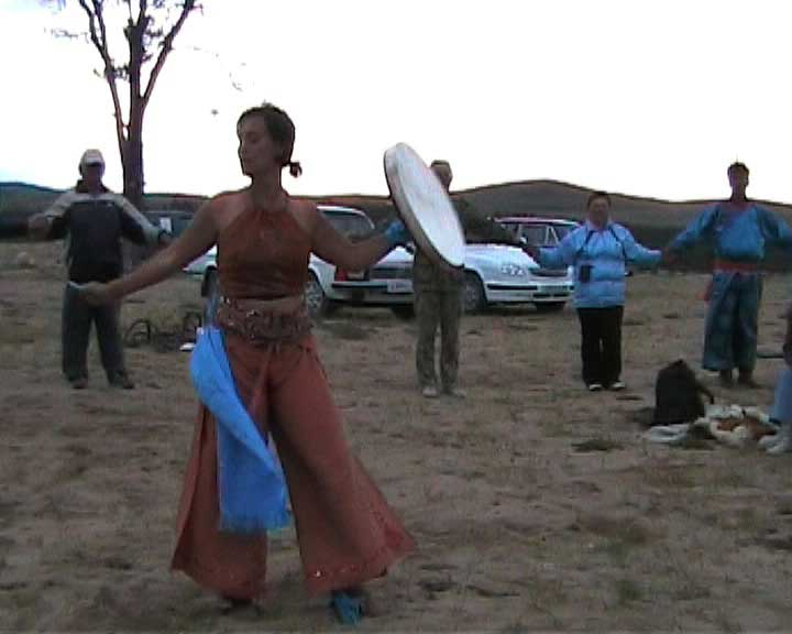Dance Ritual/Healing Performance at the Shaman's Conference (Olchon Island/Lake Baikal)