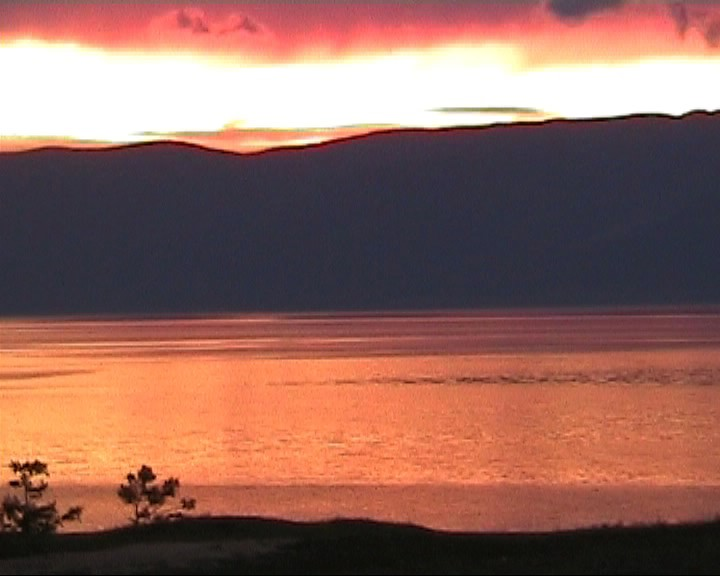 Sunset at Lake Baikal