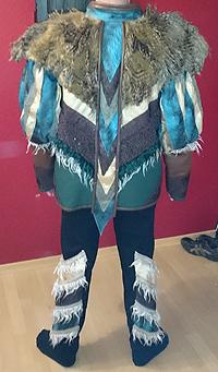 Fasnacht Kostüm Gewand Kleid Carneval Karneval Festival Gruppe Bekleidung