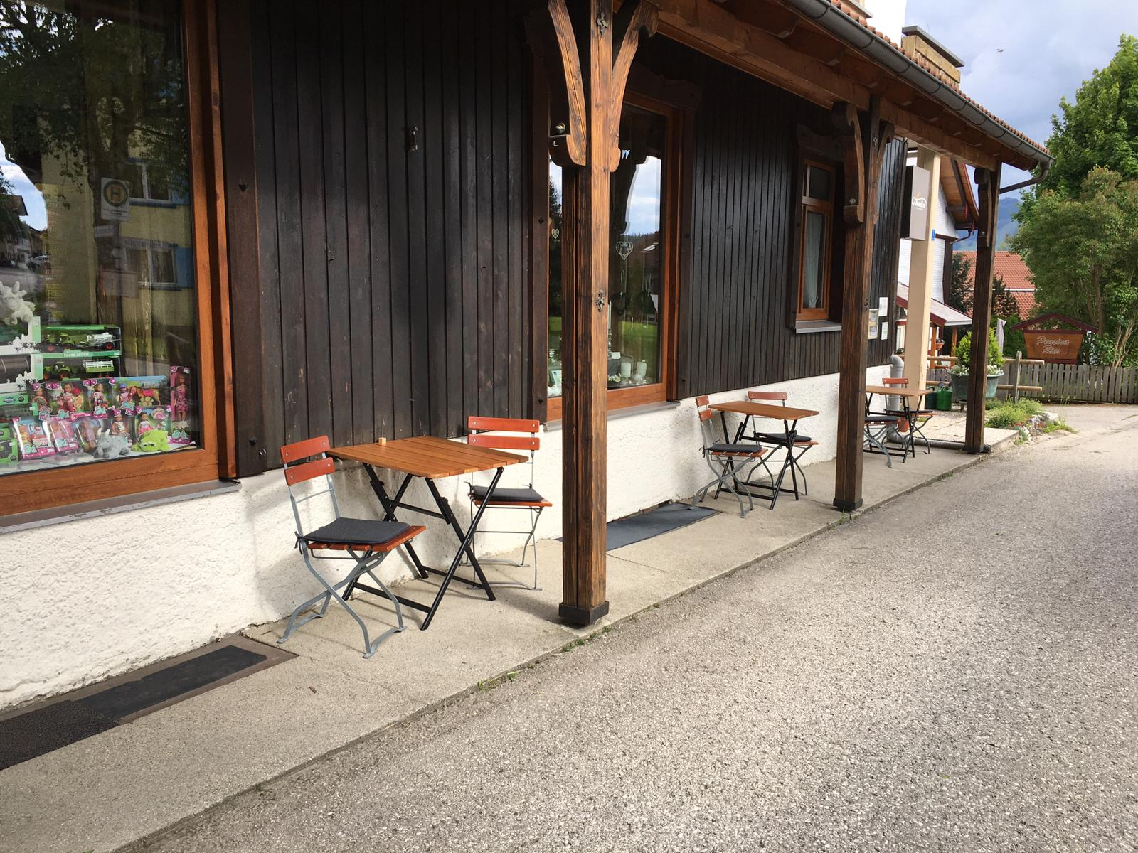 PARTE EXTERNA DEL CAFÉ ZUCKER ZWERG (Fotos Manuela Fischer)