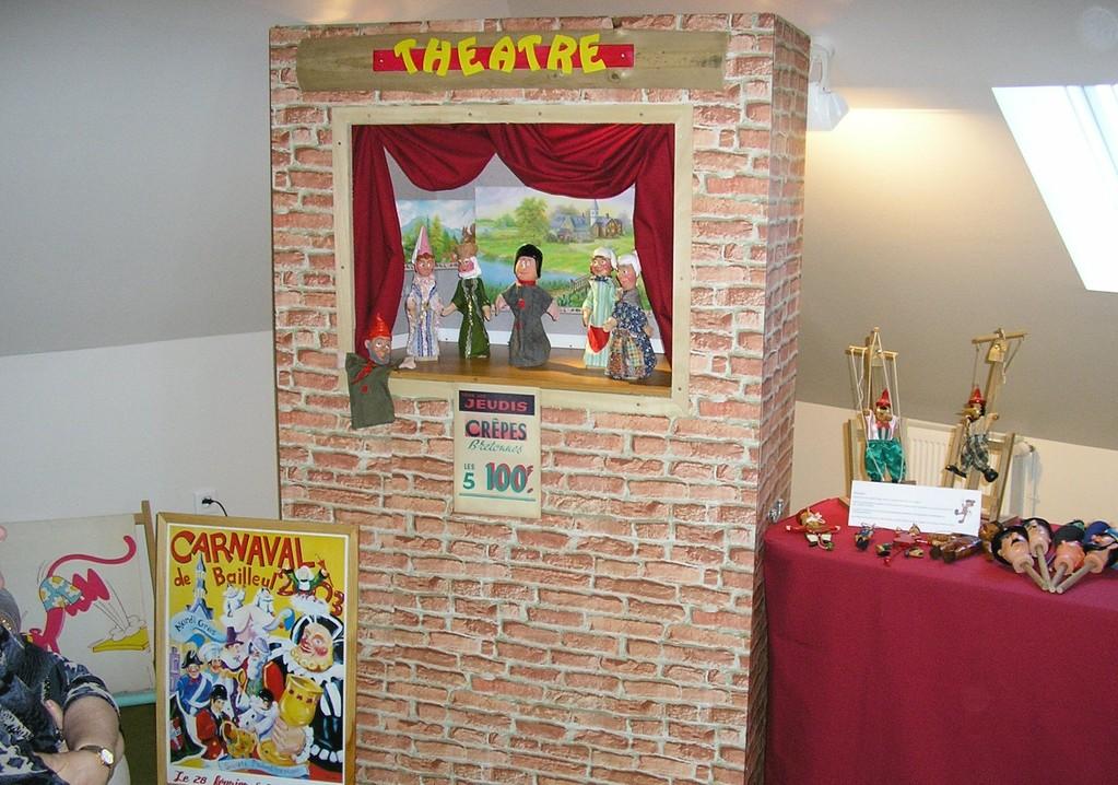 Théâtres marionnettes