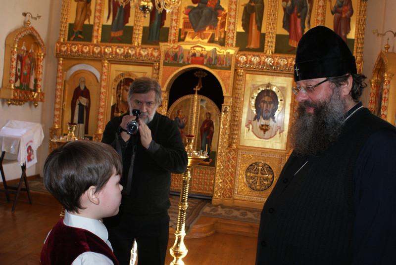 Встреча с Владыкой Кириллом, г. Ярославль, 2011 год.