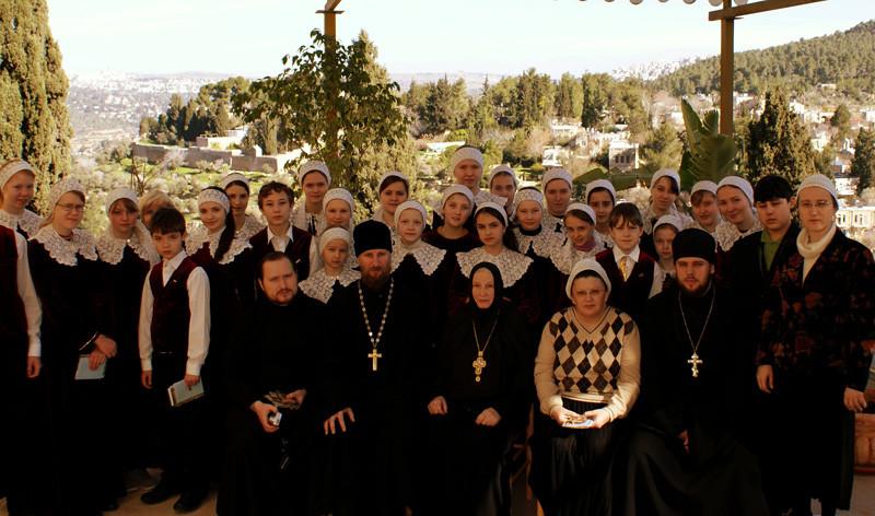 Паломничество в Израиль с Владыкой Викенитием в фервлае 2010 года.