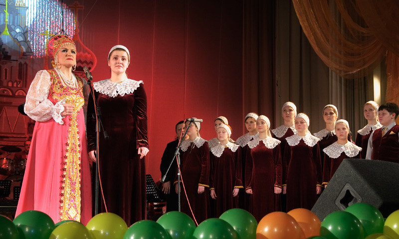 Концерт к 10-летнему Юбилею хора 17 января 2010 в Концертном зале имени Лаврова.