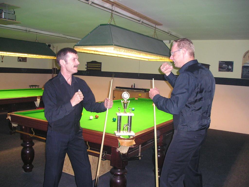 Vereinsturnier - Finale Gerhard und Markus