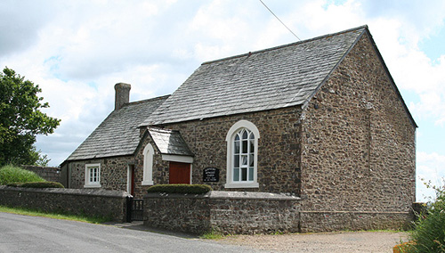 The former Downicary Chapel after conversion into a home