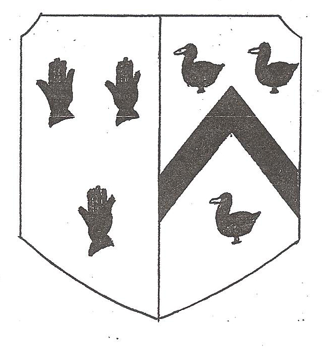 The coat of arms of Thomas Tremayne of Collacombe (Eric Jones)