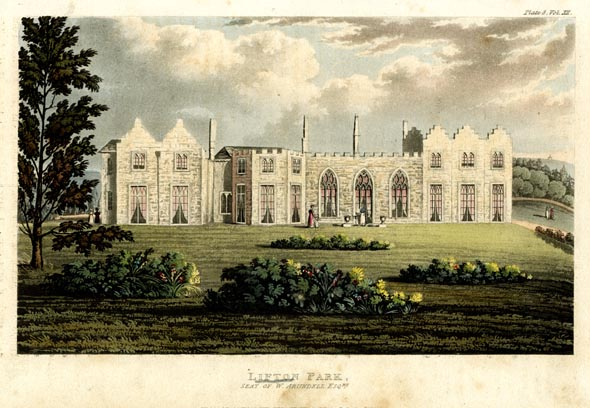 Lifton Park, built by William Arundell Harris Arundell