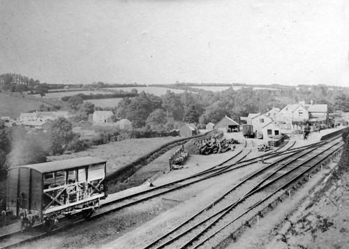 Ashwater Station (photo : courtesy Margaret May Yates)