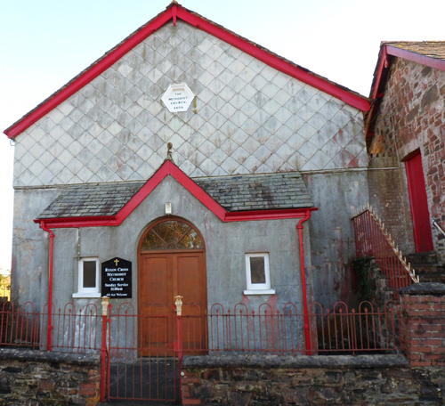 Rexon Cross Chapel, shortly after its sale in November 2014