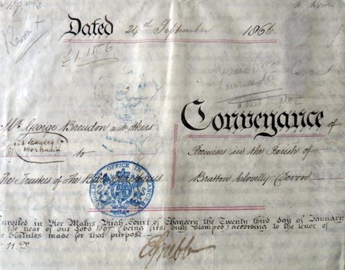1866 Conveyance