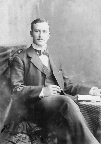 Rev John Ponsford Cann, son of Ponsford Cann (courtesy J.Cann)