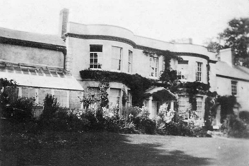 Fuidge Manor, Spreyton, Devon, the childhood home of Ponsford Cann (courtesy J.Cann)