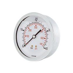 medición, termómetro, manómetro, indicador.