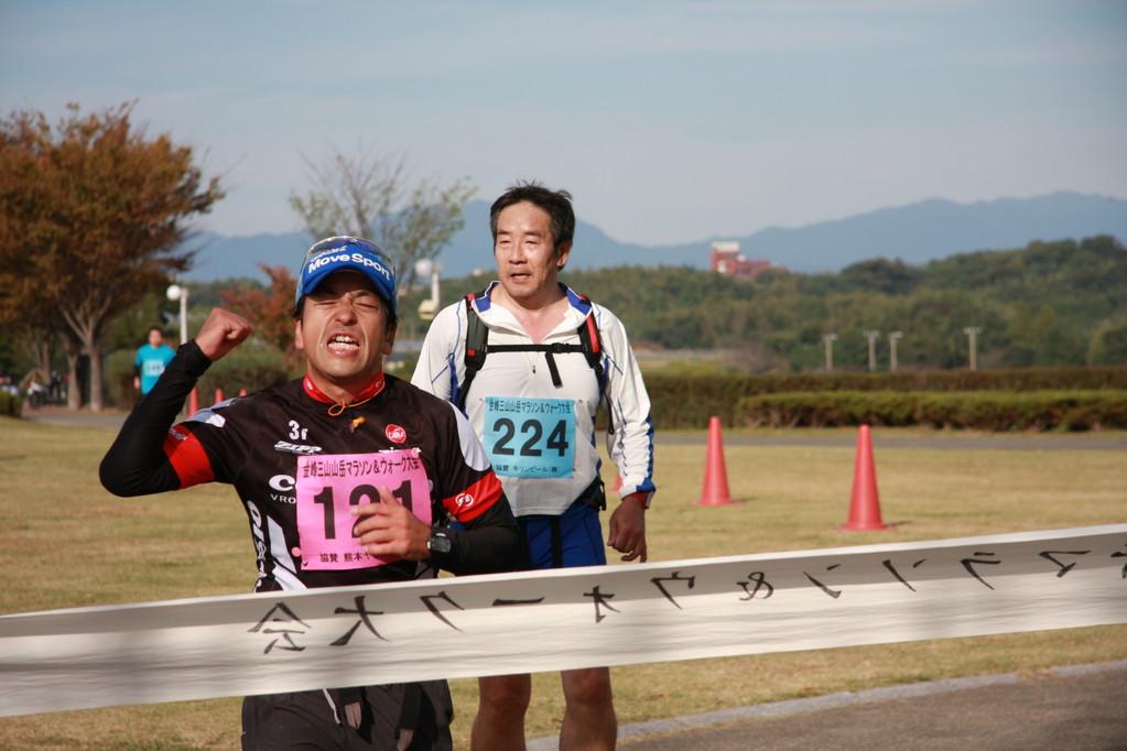 2010・11 熊本金峰山、山岳マラソン42キロ