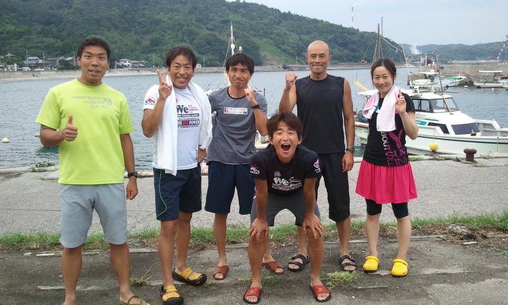 2011・8 佐賀関トライアスロンミーティング