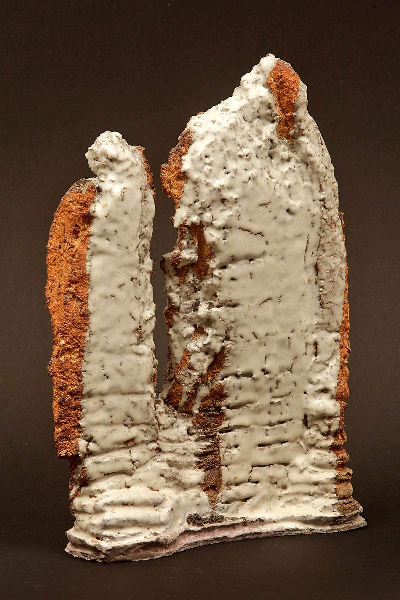 Falaise blanche II - 40 x 30 cm
