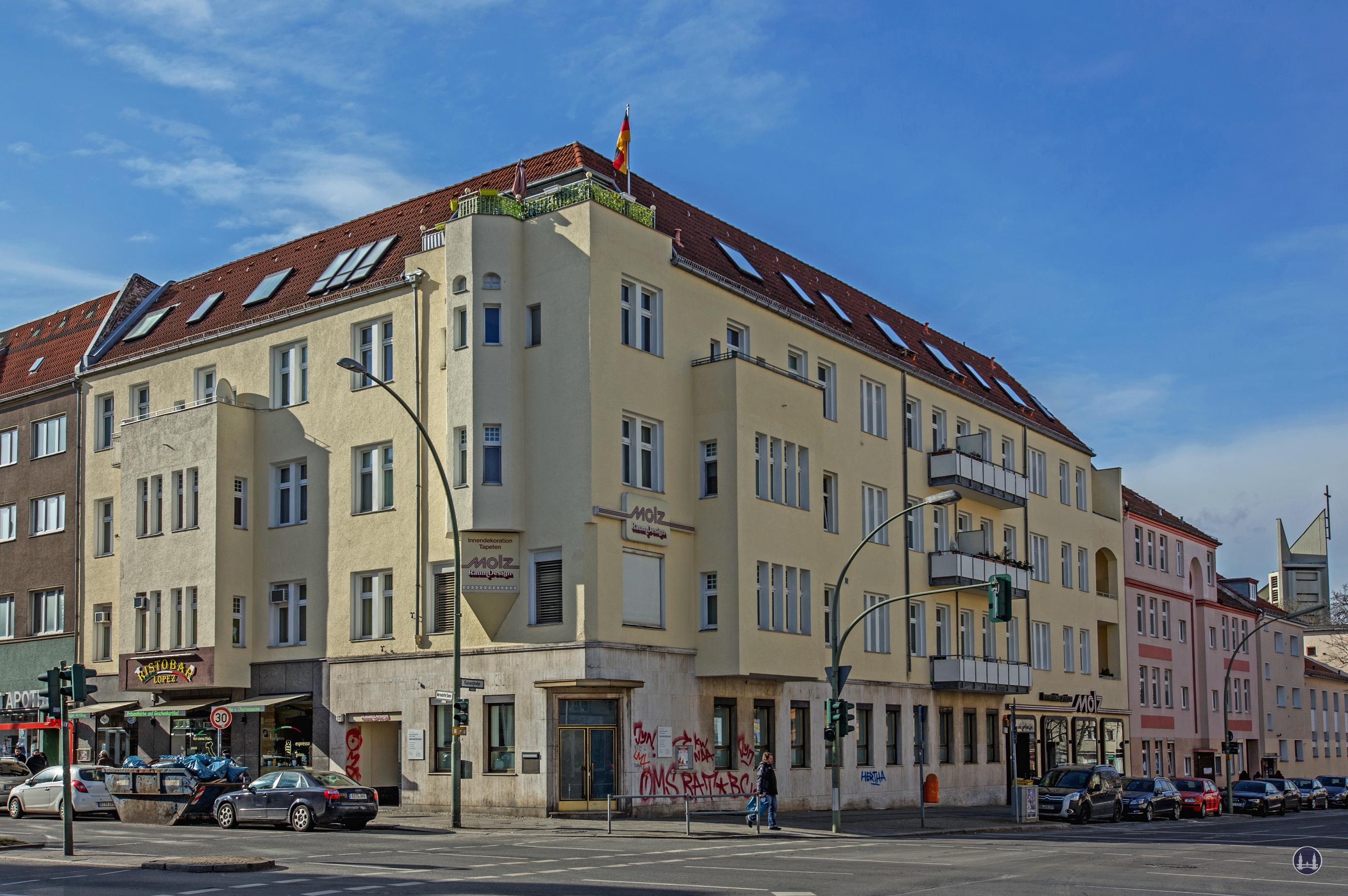 Molz Raumdesign Mariendorfer Damm ecke Kaiserstraße 2018