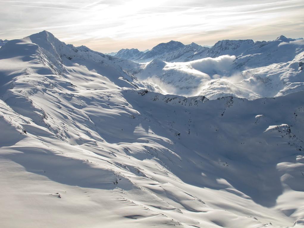 Ледник Капрун - совершенно мистические пейзажи!