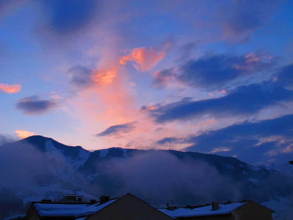 Утро цвета фламинго. Пас де ля Каса, Андорра