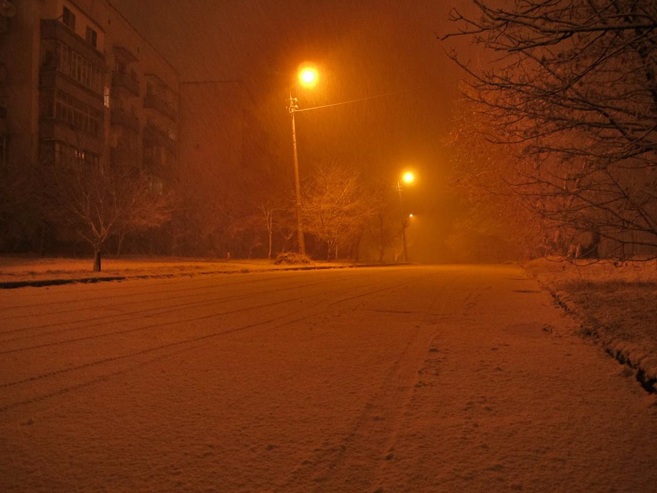 """Падал марсианский снег..."""