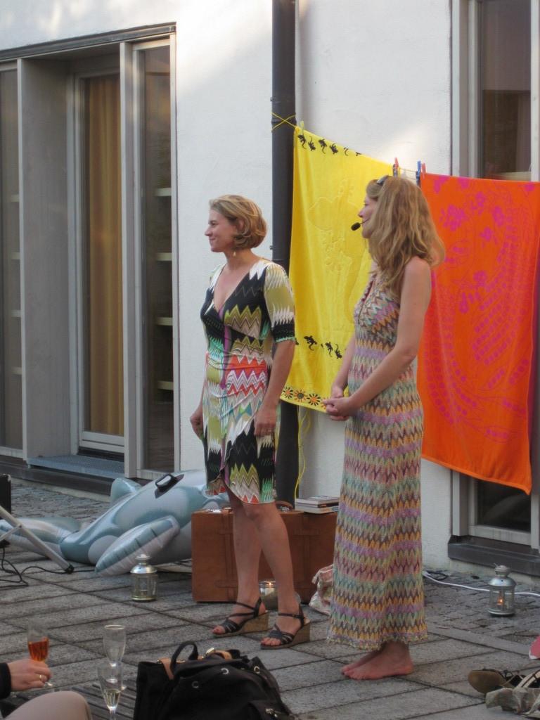 Sigrid Sommer und Monika Lößl