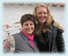 Doris Bauer und Monika Lößl