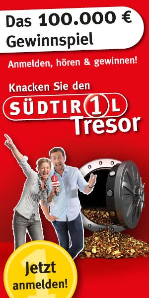Knack den Tresor bei Radio Südtirol
