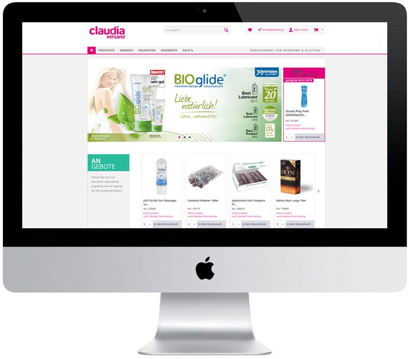 OnlineShop Konzeption, Erstellung und Pflege, Shopware System mit über 1000 Artikeln