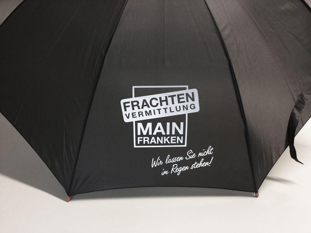 Regenschirm mit Logo bedruckt - Reflex / reflektierend