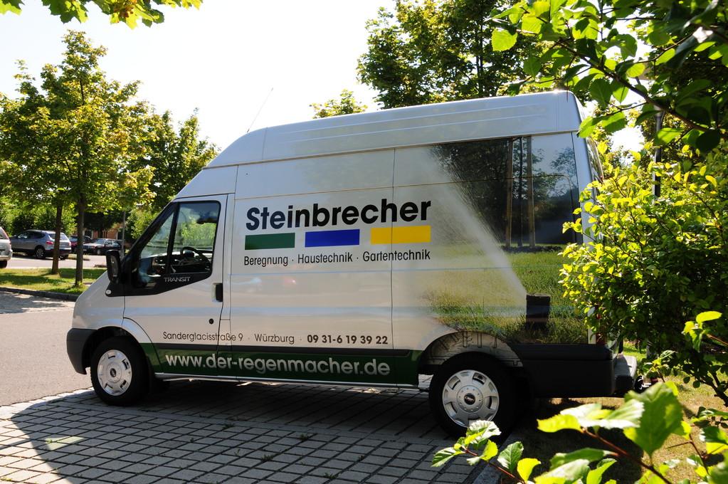 Fahrzeugbeklebung, Fahrzeugbeschriftung, Folienbeklebung, Folienbeschriftung, Fa. Steinbrecher, Würzburg Nutzfahrzeuge