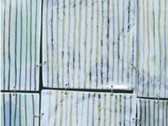 Sabine Selmke_ Kleid Porzellan Ausschnitt 1999