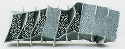 Türkise Siedlung 5   Paperclay Glasperlen 2001